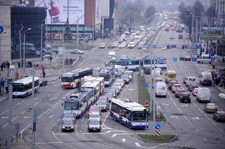 Šovasar Rīgā gaidāmi pamatīgi sastrēgumi