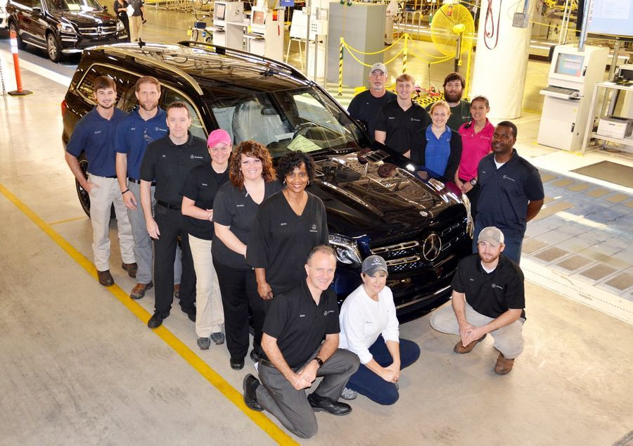Mercedes alustas uue GLS-i tootmist