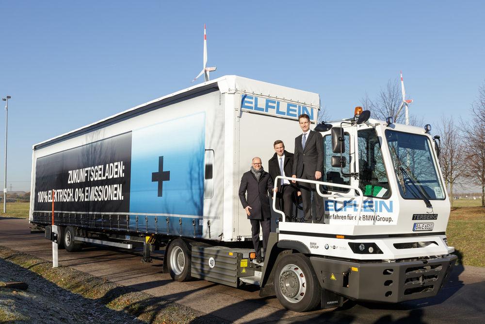 BMW võttis kasutusele esimese elektriveoauto