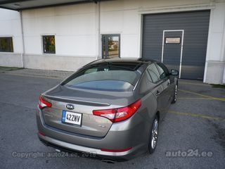 Kia Optima SXL 2.0 Turbo 204kW