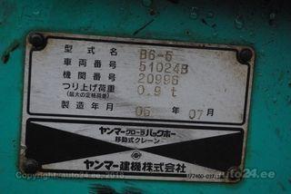 Yanmar B6-5 PRO + roomikud 29kW