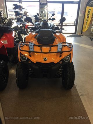 Can-Am Outlander 650 DPS T3B ABS 2018 V2