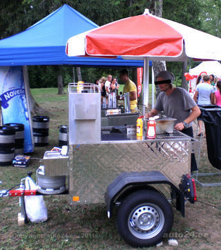 All American Hot Dog Cart