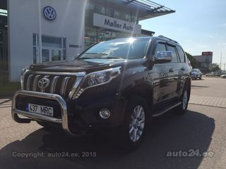 Toyota Land Cruiser Executive Off Road pakett 3.0 D-4D 140kW