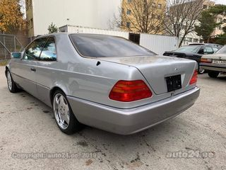 Mercedes-Benz CL 500 W140 Coupe 5.0 v8 235kW