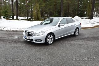 Mercedes-Benz E 350 Avantgarde BlueEfficiency 3.0 V6 170kW