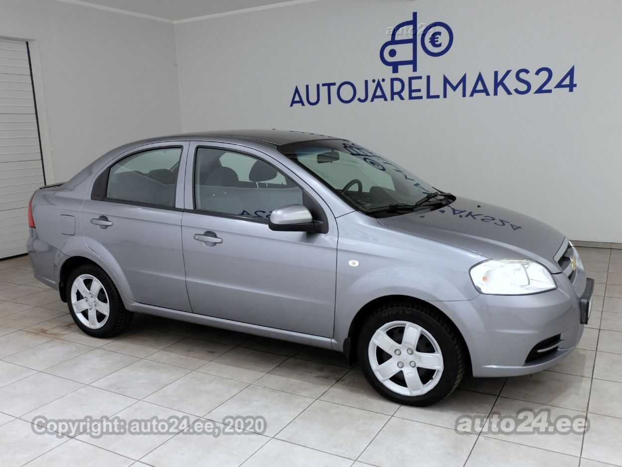 Chevrolet Aveo Facelift - Photo