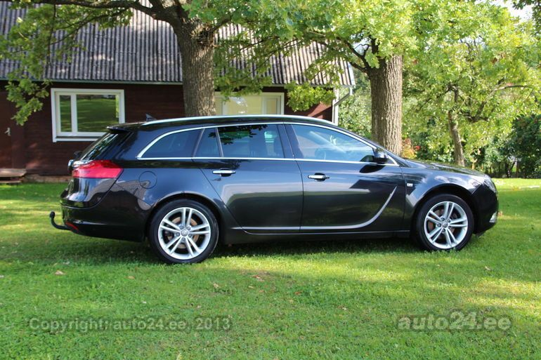 Opel Insignia Sports Tourer COSMO 2 0 DTH 118kW - auto24 lv