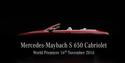 Mercedes-Maybach näitab Los Angelesis luksuslikku kabrioletti