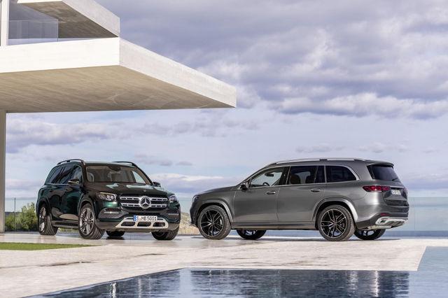 Mercedes GLS. Foto: Mercedes
