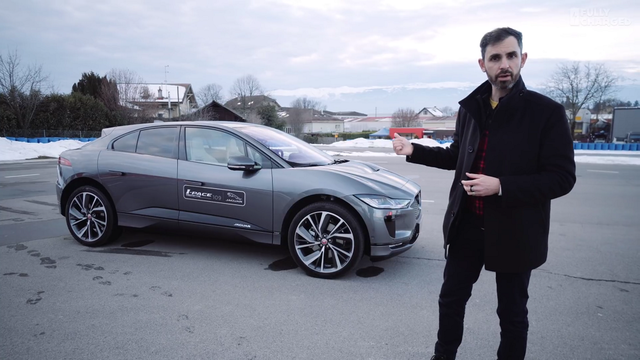 Jaguar I-Pace. Kaader: Youtube