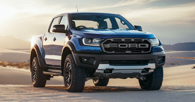 Ford Ranger Raptor. Foto: Ford