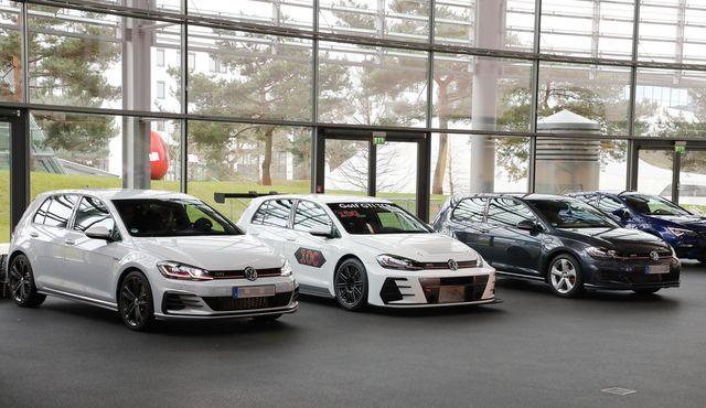 VW Golf GTI TCR. Foto: Volkswagen