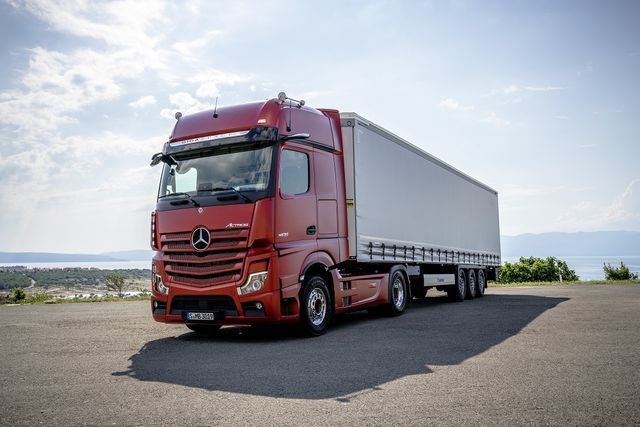 Mercedes-Benz Actros MP4. Foto: Daimler