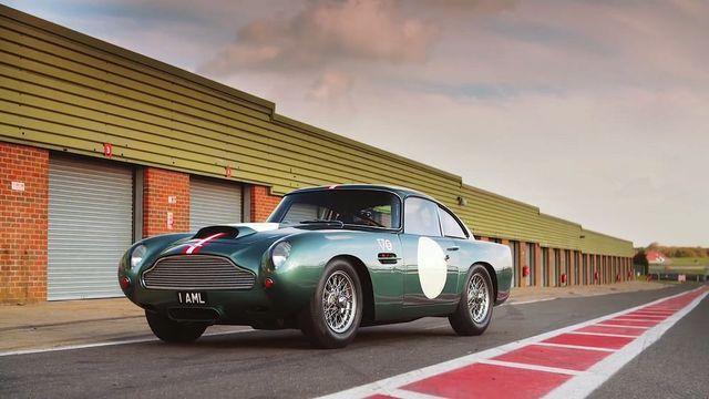 Aston Martin DB4 GT Continuation. Kaader: Youtube