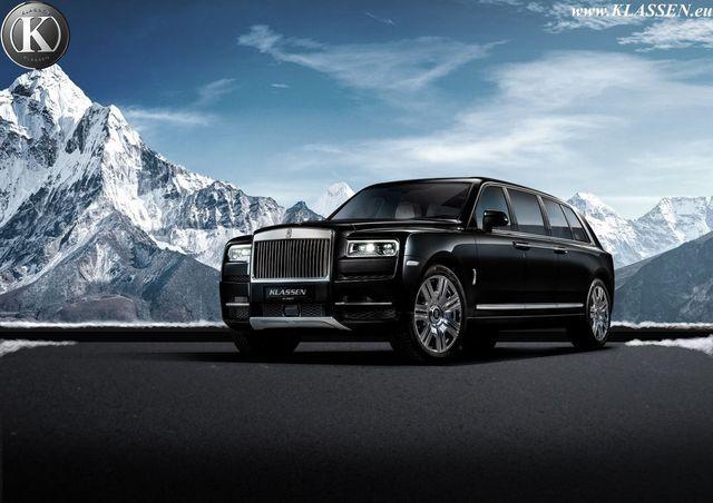 Rolls-Royce Kullinan. Foto: Klassen