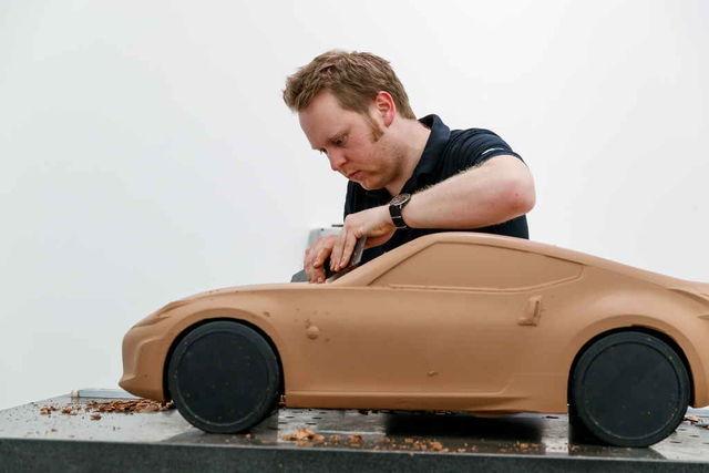 Savimudeleid valmistatakse üle maailma eri disainistuudiotes, enne kui lõplik disain heaks kiidetakse. Foto: Nissan