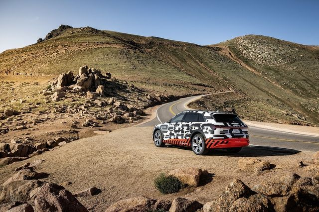 Audi e-tron. Foto: Audi
