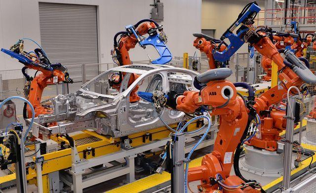 Jaguarite tootmine Solihullis. Foto: Jaguar Land Rover