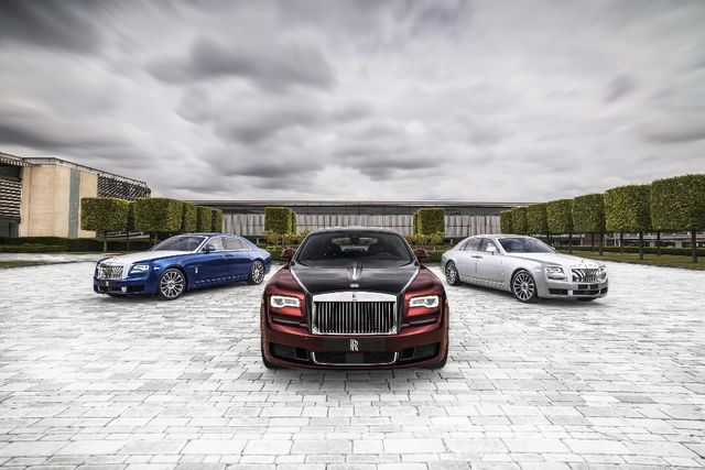 Rolls-Royce Ghost Zenith Collection. Foto: Rolls-Royce