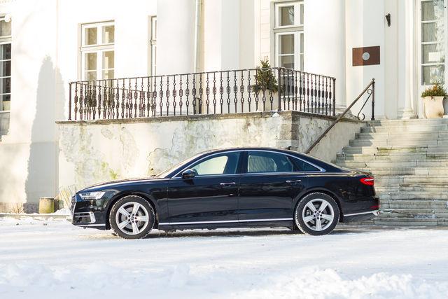 Audi A8 2018. Foto: Laas Valkonen