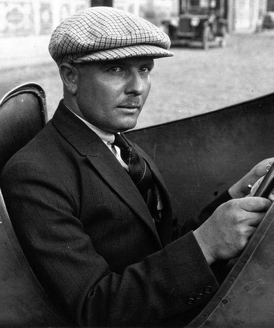 Albert Divo. Foto: Bugatti