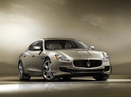 Maserati Quattriporte GTS. Foto: Maserati