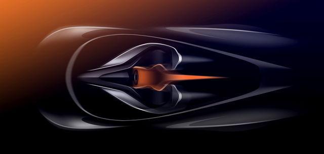 McLaren Speedtail. Foto: McLaren
