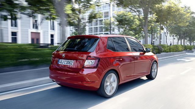 Škoda Fabia saab uue baasmootori. Foto: Škoda