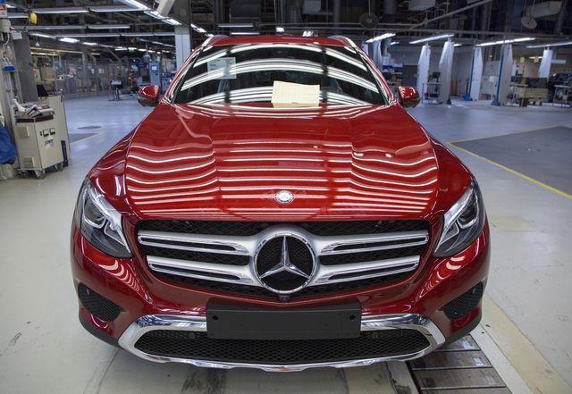 Valmet Automotive jõudis 100 000 GLC tootmiseni. Foto: Valmet