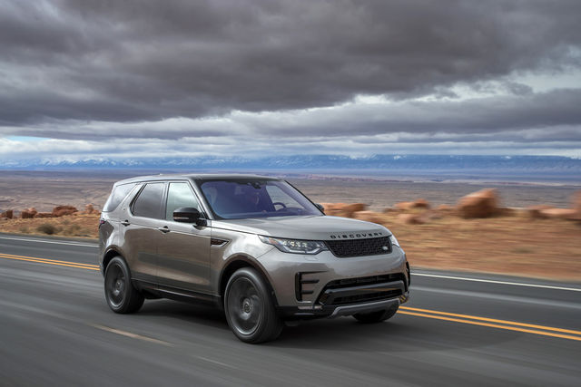 Land Rover Discovery. Foto: Jaguar Land Rover