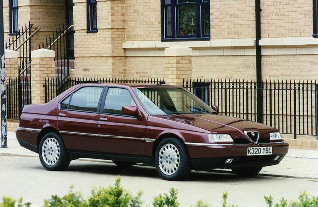 Kiire ja stiilne: 164 sai esiveo, võimsad mootorid ja Pininfarina disaini. Foto: Alfa Romeo