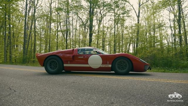 Ford GT40. Kaader: Youtube