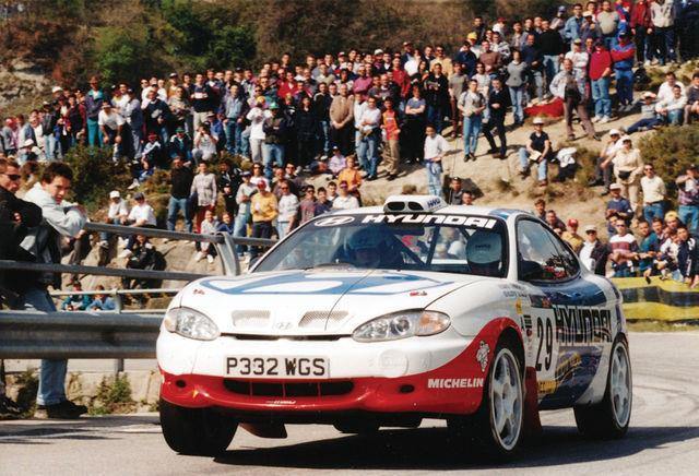 MM-võistlustel tippu pürgimist alustas Hyundai 1998. aastal F2-klassi Coupé Kit Cariga, mille roolis istus Alister McRae. Fotod: Hyundai Motorsport, Martin Holmes