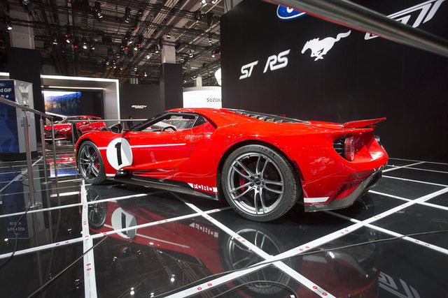 Ford GT Heritage Edition. Foto: Tarmo Riisenberg