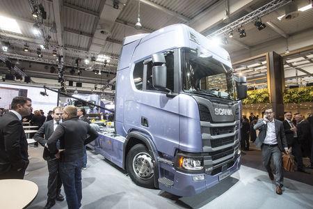 Scania uued veokid. Foto: Tarmo Riisenberg