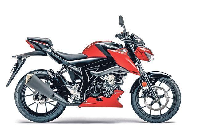 Suzuki GSX-S125. Foto: Suzuki