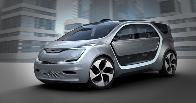 Chrysler Portal Concept. Foto: Chrysler