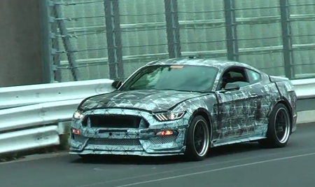 Ford Mustang 350GT. Kaader: Youtube