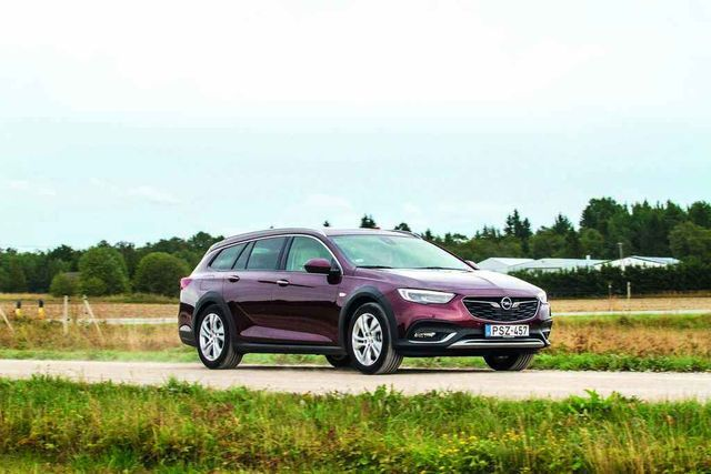 Opel Insignia Country Tourer on ilus auto. Foto: Pille Russi