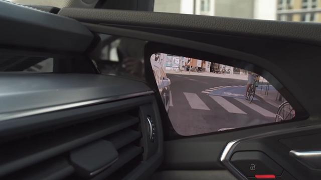 Audi virtuaalne peegel. Kaader: Youtube
