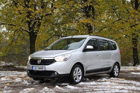 Vähem kui 10000eurose baashinnaga Dacia Lodgy osutub vägagi praktiliseks.