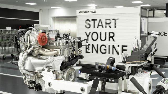Mercedes-AMG M 139 mootor. Foto: Mercedes-Benz