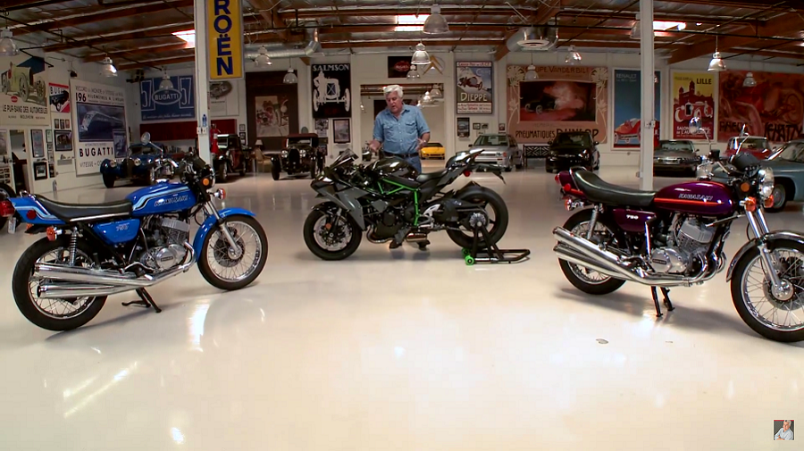 VIDEO: Jay Leno's Garage: Kawasaki H2