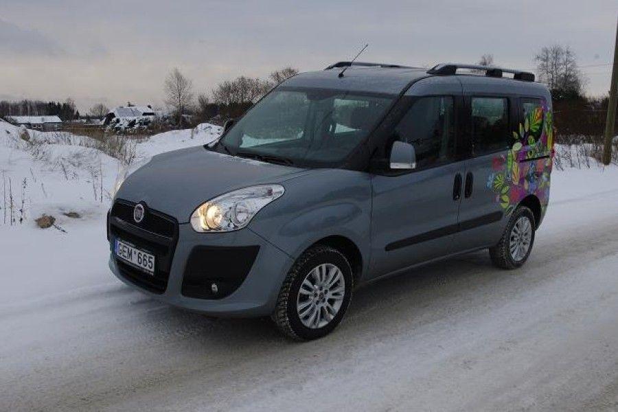 Surugaasimootoriga Fiat Doblò on diiselversioonist tublisti kallim, kuid tänu gaasi odavusele jõuad palju sõites lõpuks ikkagi plussi.