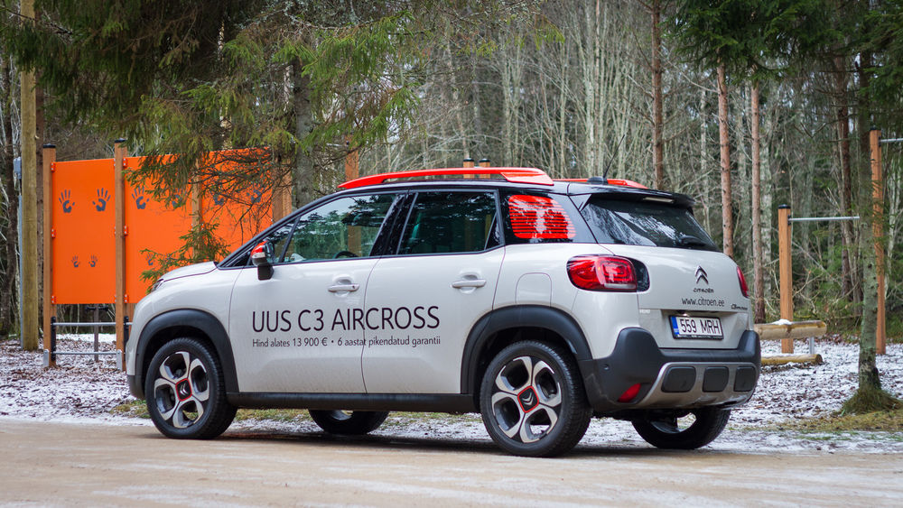 Motors24 proovisõit - Citroën C3 Aircross