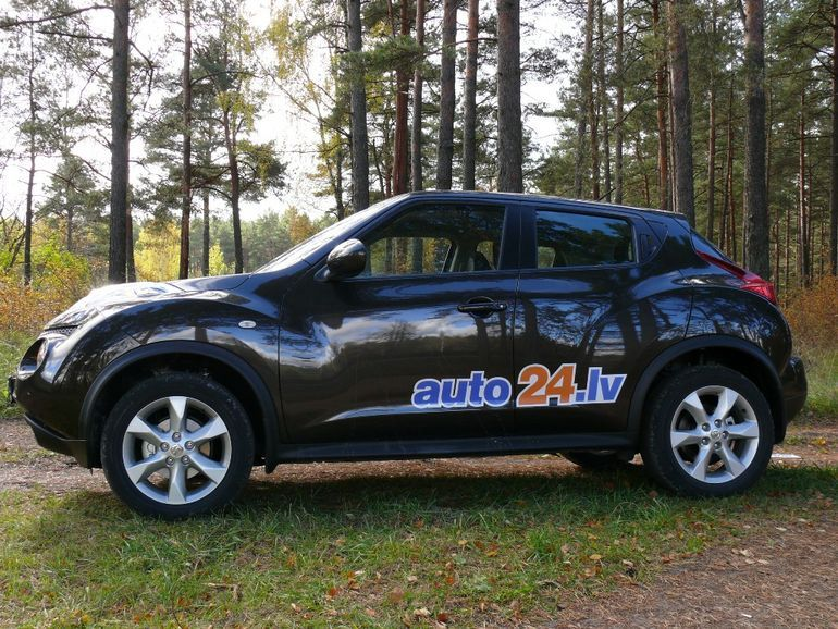 small and unique nissan juke - test drives - news - auto24.lv