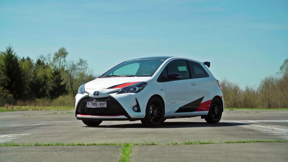 VIDEO: Toyota Yaris steroididel: Yaris GRMN