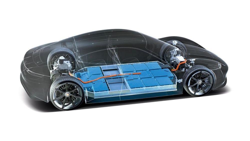 Porsche Taycani jõuallikate võimsus ületab 600 hobujõudu
