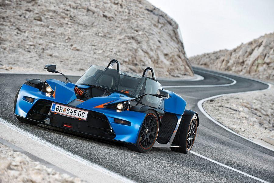 KTM X-Bow saab viiesilindrilise turbomootori